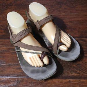 Merrell Siena Light Brown Sandals Womens 10